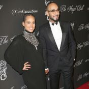 Alicia Keys, enceinte et amoureuse au bras de Swizz Beatz face à Sofia Vergara