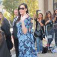 Liv Tyler, enceinte à Paris. Le 1er octobre 2014.