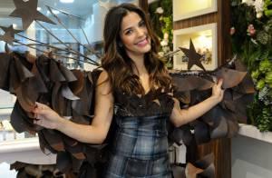 Gyselle Soares : Sensuelle dans sa robe en chocolat, elle rayonne !