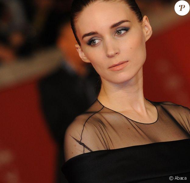 Rooney Mara lors de la projection de Favelas (Trash) au festival du film de Rome le 18 octobre 2014