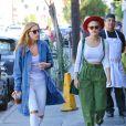 Rumer Willis et ses soeurs Tallulah et Scout à Los Angeles, le 27 octobre 2014.