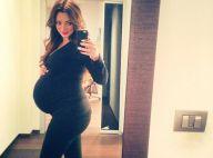 Emilie Nef Naf, enceinte : Fière de son énorme baby bump, elle prend la pose !