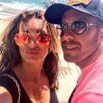 Emilie Nef Naf profite de quelques jours de vacances dans le Sud de la France avec son chéri Jérémy Ménez. Juin 2014