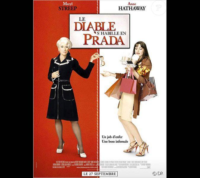 Anne Hathaway Graham Norton: Affiche Du Film Le Diable S'habille En Prada