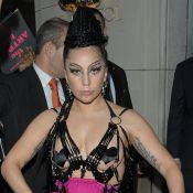 Lady Gaga à Paris : Seins (presque) nus, la diva toujours aussi affolante