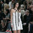 Kendall Jenner - Mannequins célèbres au défilé Chanel ptêt-porter printemps-été 2015 à Paris le 30 septembre 2014