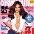 Emily Ratajkoswki, première couverture de Cosmopolitan. Photo partagée sur Instagram. 2014.