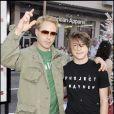 Robert Downey Jr. et son fils Indio à Hollywood le 3 novembre 2007