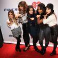 "Ally Brooke, Dinah Jane Hansen, Normani Kordei, Lauren Jauregui, Camila Cabello du groupe Fifth Harmony - Fifth Harmony - Soiree ""Z100's Jingle Ball 2013"" au Madison Square Garden, à New York, le 13 décembre 2013."