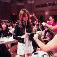 Charlotte Gainsbourg lors de la soirée Paradisio: A Tribute to the Renaissance à Brooklyn, New York, le 4 novembre 2014