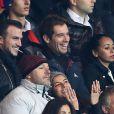 Richard Gasquet au match entre le PSG et Marseille au Parc des Princes à Paris le 9 novembre 2014.