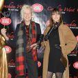 Ellen von Unwerth et une amie à la première du show de Conchita Wurst au Crazy Horse à Paris, le 9 novembre 2014.