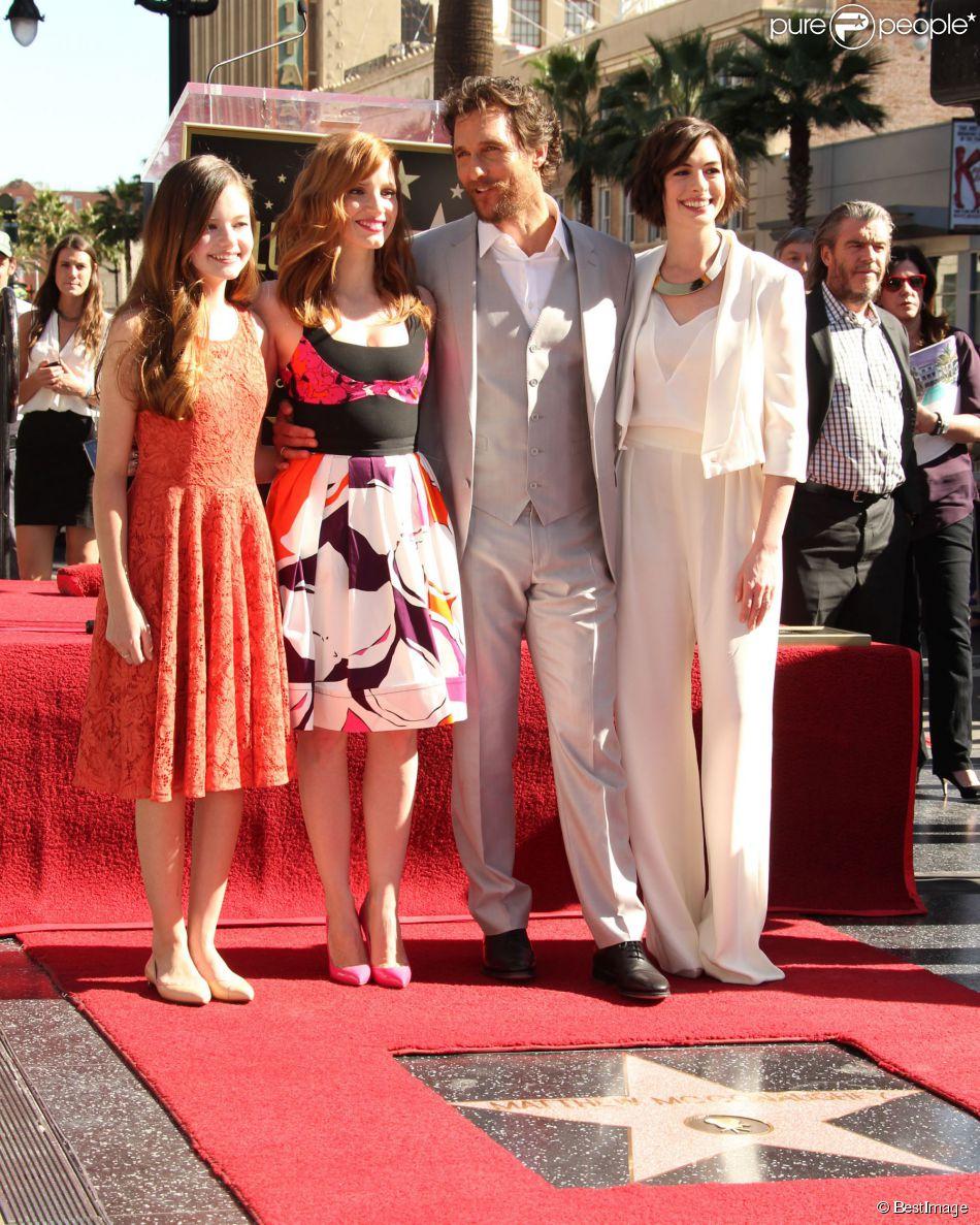 Mackenzie Foy, Matthew McConaughey, Anne Hathaway, Jessica