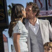 Matthew McConaughey et ses trois enfants : Un papa poule honoré devant sa femme