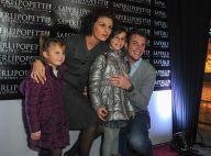 Norbert Tarayre : Son épouse Amandine et leurs filles fières de 'Saperlipopette'