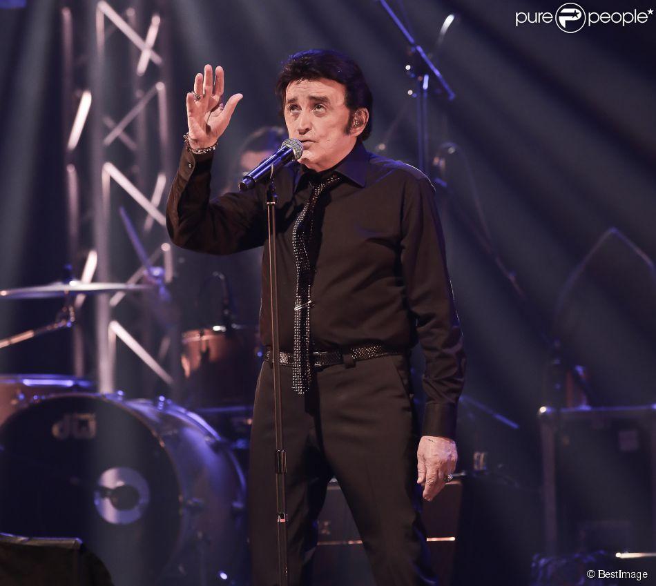 Dick Rivers en concert au Théâtre du Casino Barrière à Lille, le 25 mai 2013.