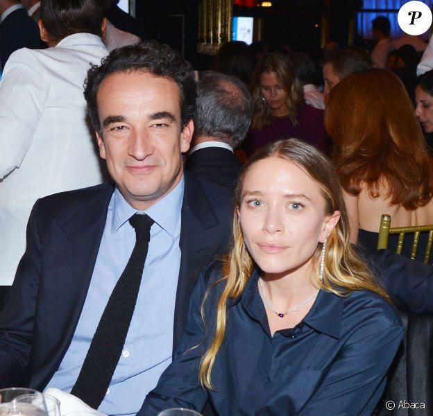 Olivier Sarkozy et Mary-Kate Olsen au gala caritatif organisé par le Child Mind Institute à New York le 26 novembre 2014