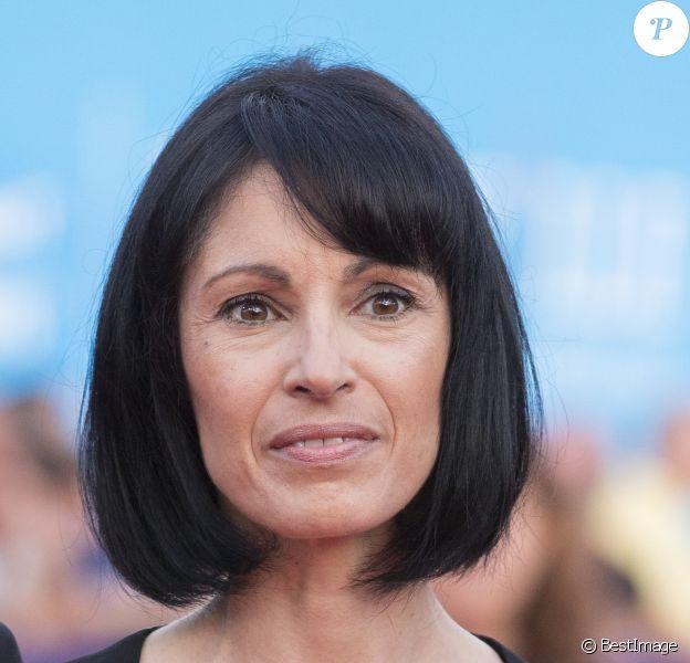 """Marie-Claude Pietragalla - Avant-première du film """"Sin City"""" lors du 40e festival du cinéma américain de Deauville, le 13 septembre 2014."""