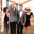 Pamela Anderson assiste au mariage de Dan Mathews et Jack Ryan à Las Vegas. Le 27 novembre 2014.