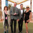 Pamela Anderson assiste au mariage d'un couple d'amis à Las Vegas. Le 27 novembre 2014.
