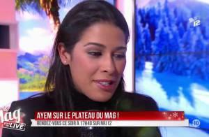 Ayem Nour en larmes : Très émue pour son retour dans ''Le Mag'' de NRJ12
