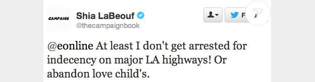 Shia Labeouf subtweete Jim Carrey.