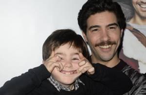 Tahar Rahim, père Noël surprenant au côté d'un adorable garçon