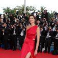 Inès de la Fressange lors du 67 ème Festival du film de Cannes. Le 16 mai 2014.