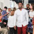 Diddy à Art Basel Miami Beach. Miami, le 3 décembre 2014.