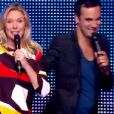 """Louise Ekland et Axel Goude - """"La France a un incroyable talent 2015"""" sur M6. Episode 1 diffusé le 9 décembre 2014."""