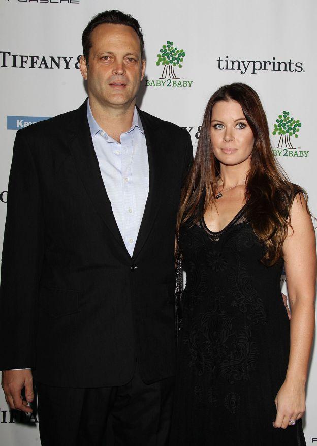 Vince Vaugn et sa femme Kyla Weber au Gala Baby2Baby 2014 récompensant Kate Hudson le 8 novembre 2014 à Los Angeles. ©Abaca Press