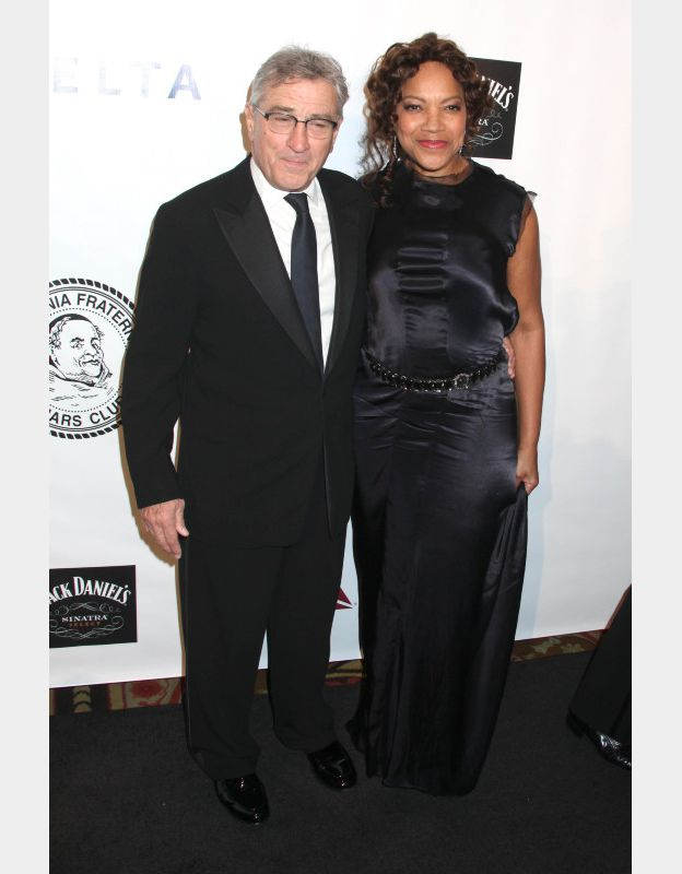 Robert de Niro et sa femme Grace Hightower à la soirée de gala de la fondation Friars le 7 octobre 2014 à New York. ©BESTIMAGE
