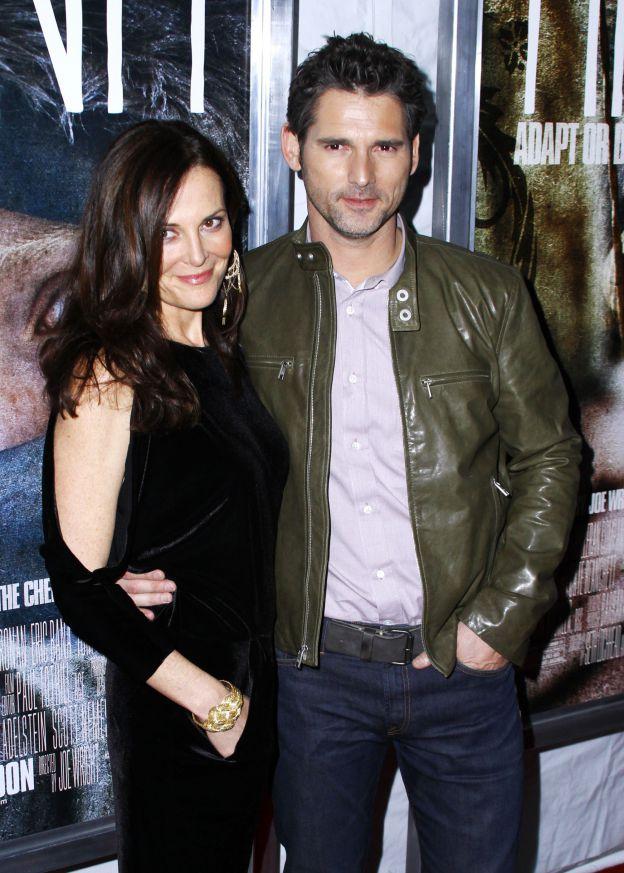 Eric Bana et sa femme Rebecca Gleeson à la projection du film Hanna le 6 avril 2011 à New York. ©Abaca Press