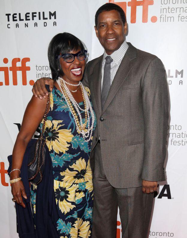 Denzel Washington et sa femme Pauletta à la Première de The Equalizer au festival international du film de Toronto, le 7 septembre 2014. ©BESTIMAGE