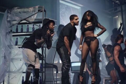 Nicki Minaj : Irrésistible dans le clip d'Only, elle séduit Drake et Lil Wayne
