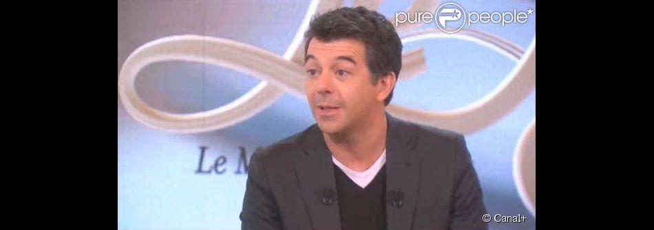 Stéphane Plaza, invité du Tube sur Canal+, le samedi 13 décembre 2014.