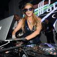 Paris Hilton, à l'After des NRJ Music Awards 2014 à Cannes, le samedi 13 décembre 2014.