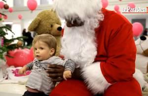 Teddy Riner : Père Noël impressionnant et généreux pour des enfants heureux