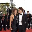 Laure Manaudou et son ex-compagnon Pierre Henri lors du Festival de Cannes le 22 mai 2005 à Cannes