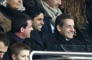 Nicolas Sarkozy, supporter souriant devant son fils Louis et un PSG navrant