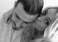 Aurélie Dotremont : Son fiancé Julien Bert hospitalisé, elle court le câliner