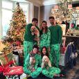 Patrick Schwarzenegger en famille, le jour de Noël, à Santa Monica.