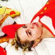 Miley Cyrus, photo sur son compte Instagram, décembre 2014