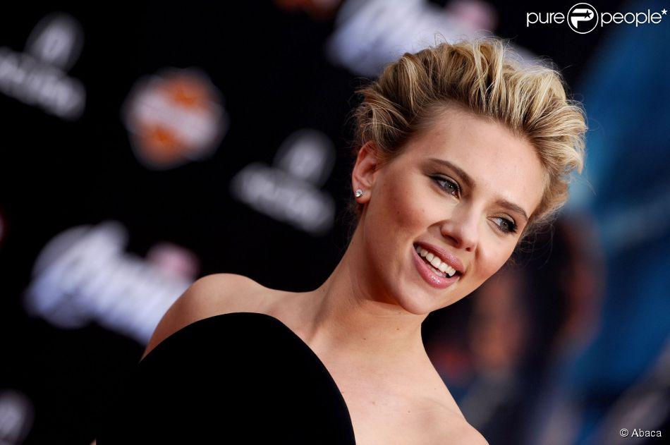 Scarlett Johansson à Los Angeles, le 11 avril 2012.