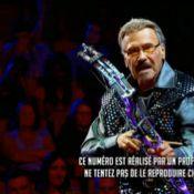 Incroyable Talent 2015: Un papy armé d'une arbalète et des testicules d'acier...
