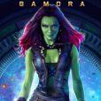 """Zoe Saldana dans """"Les Gardiens de la Galaxie"""", un des plus gros succès de l'année 2014."""