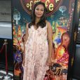 "Zoe Saldana (enceinte) - Première du film ""The Book of Life"" à Los Angeles le 12 octobre 2014."
