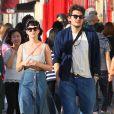La chanteuse Katy Perry et son petit ami John Mayer se baladent et font du shopping à Hollywood. le 16 février 2014