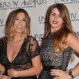 """Martika Caringella et Elodie (Bachelor 2014) - Cérémonie des """"Lauriers TV Awards 2015"""" à la Cigale à Paris, le 6 janvier 2015.06/01/2015 - Paris"""