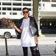 Jessie J arrive à l'aéroport de Miami, le 2 décembre 2014